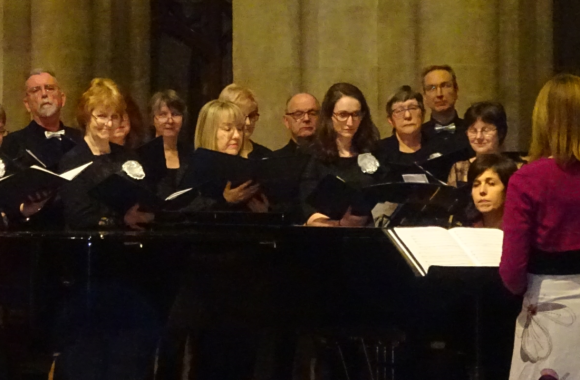 Singing in the abbey